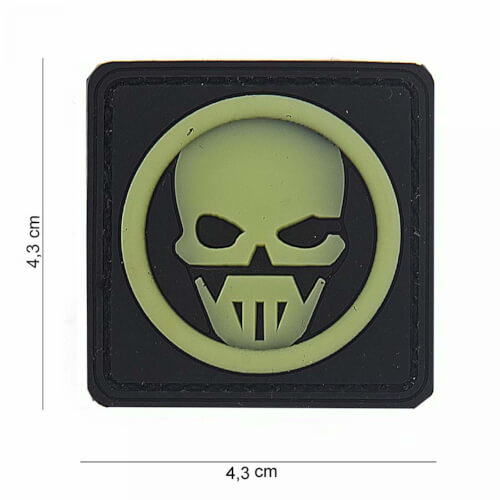 101 inc 3D PVC Patch Ghost