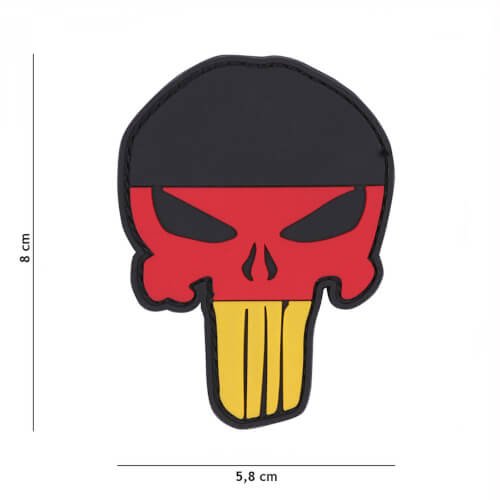 101 inc 3D PVC Patch Punisher Germany