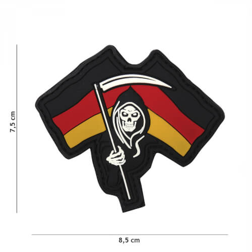 101 inc 3D PVC Patch German Reaper