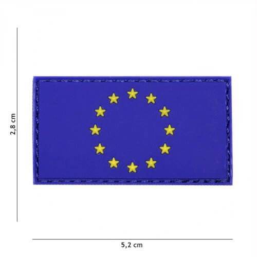 101 inc 3D PVC Patch EU blue