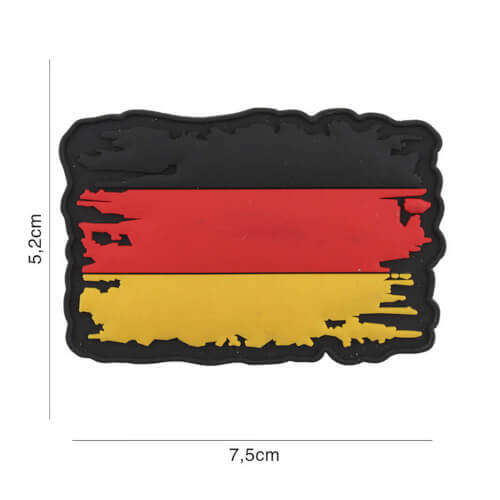 Van Os 3D PVC Patch Germany vintage