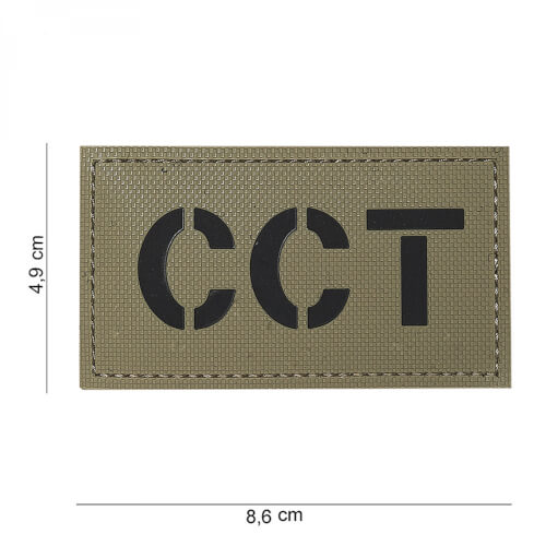 101 inc 3D PVC Patch CCT coyote