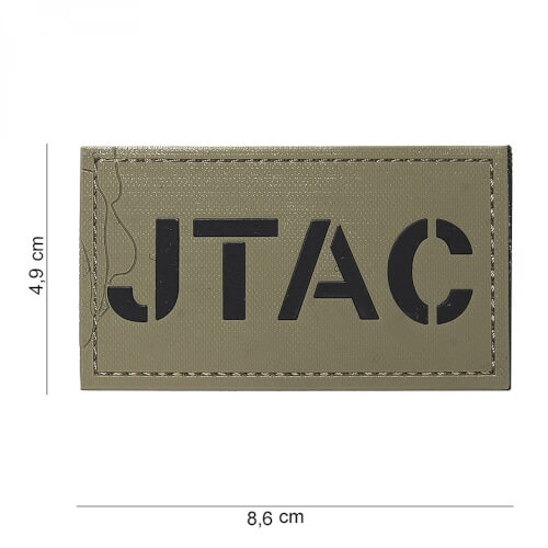 101 inc 3D PVC Patch JTAC coyote