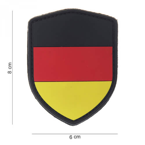 101 inc 3D PVC Patch shield German