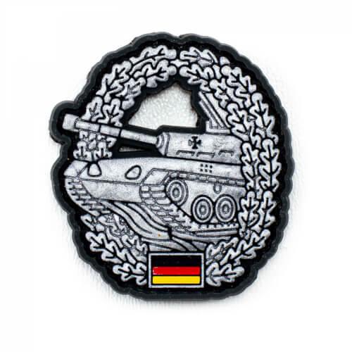Y-Patches 3D PVC Barettabzeichen Panzertruppe