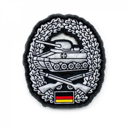 Y-Patches 3D PVC Barettabzeichen Panzergrenadiertruppe