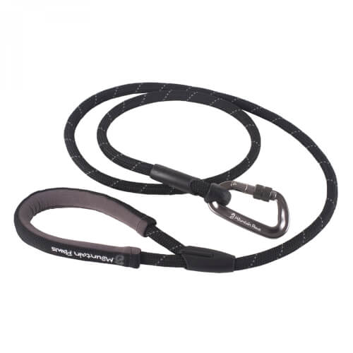 Mountain Paws Hundeleine 'Rope Lead' black