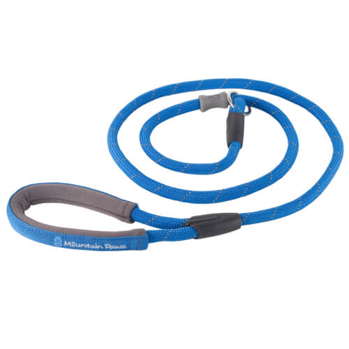 Mountain Paws Hundeleine 'Training Lead' blue