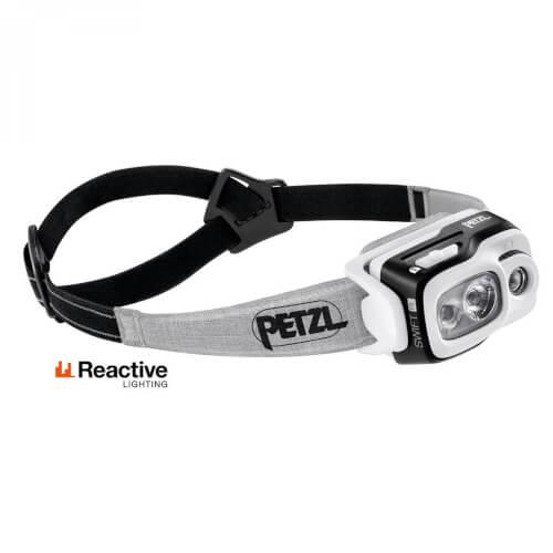 Petzl Swift RL 900 Lumen schwarz