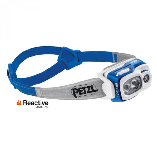 Petzl Swift RL 900 Lumen blau