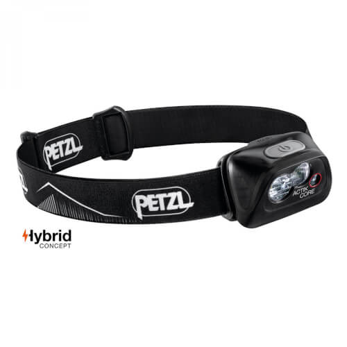 Petzl Stirnlampe ACTIK CORE 450Lumen schwarz