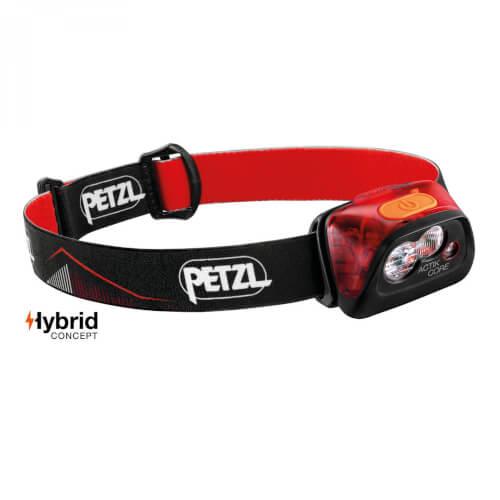Petzl Stirnlampe ACTIK CORE 450Lumen schwarz/rot