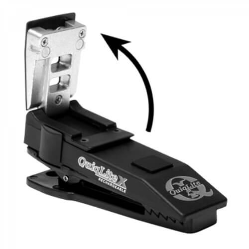 QuiqLite X LED Weiß Weiß, inkl. Diffusoraufsatz XFLARE