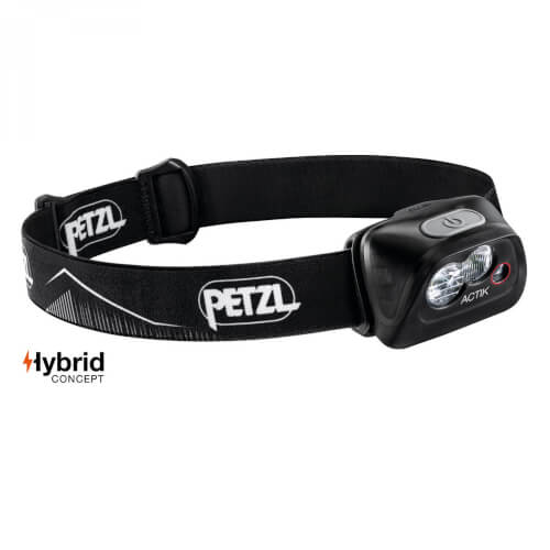 Petzl Stirnlampe ACTIK 350Lumen schwarz