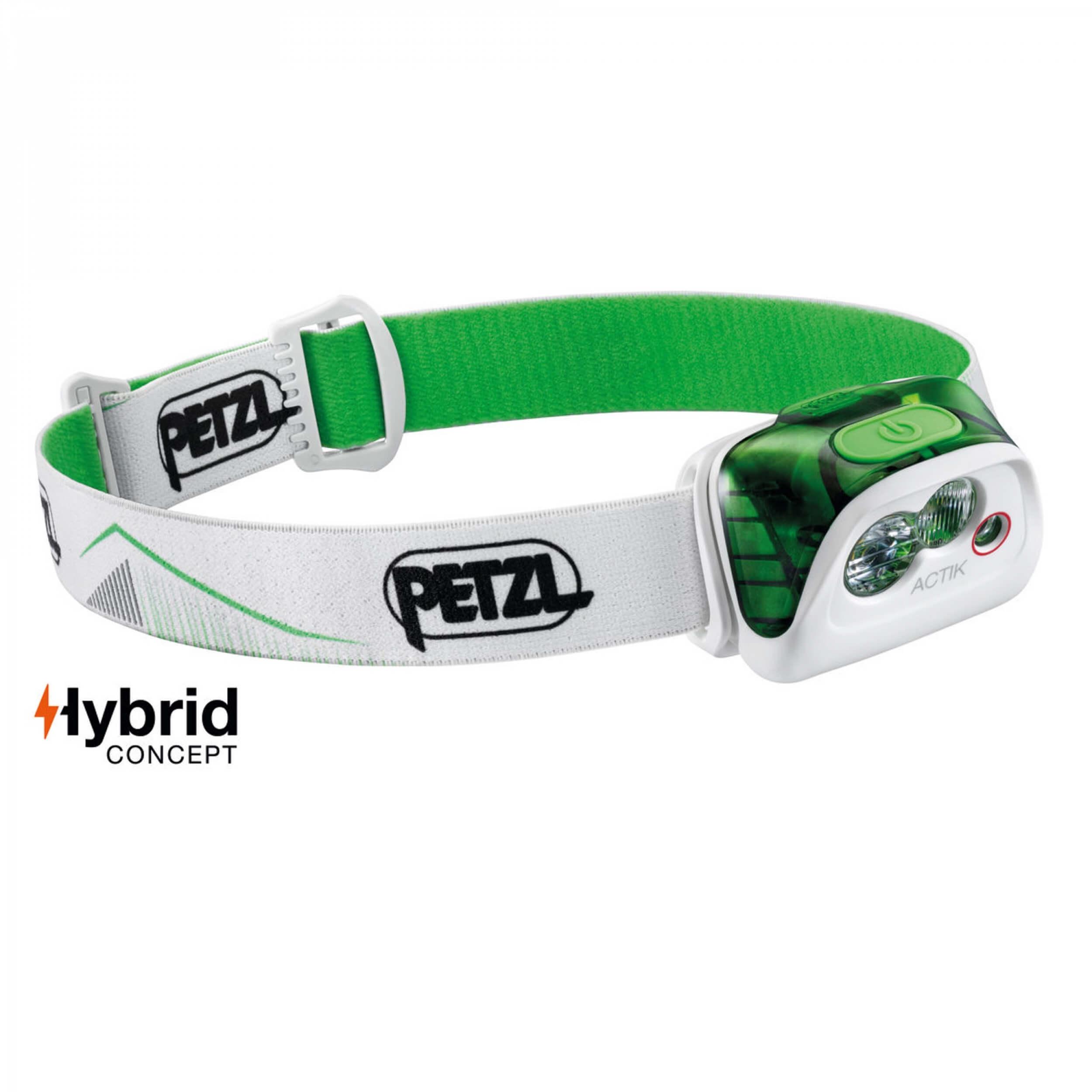 Petzl ACTIK 350Lumen grün