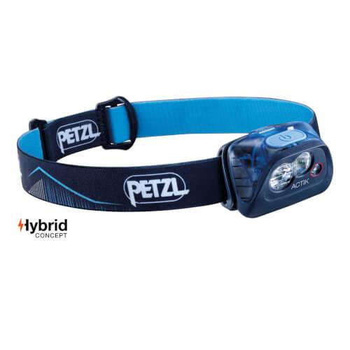 Petzl Stirnlampe ACTIK 350Lumen blau