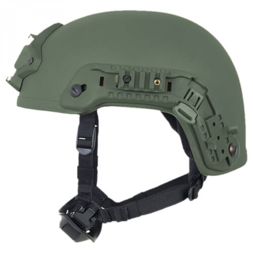 HCS Viper 3 SHC Helm mit Rails NVG Mount und Pad-System oliv