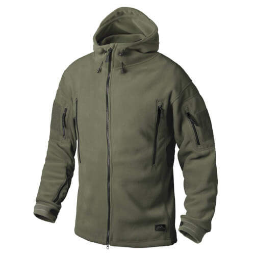 Helikon-Tex Patriot Jacke - Double Fleece olive green