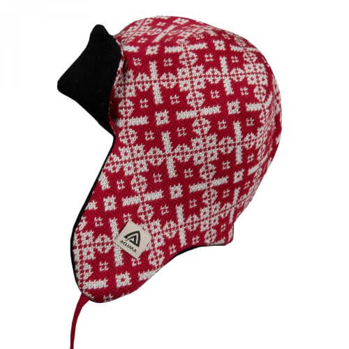 Aclima Hotwool Polar Cap red