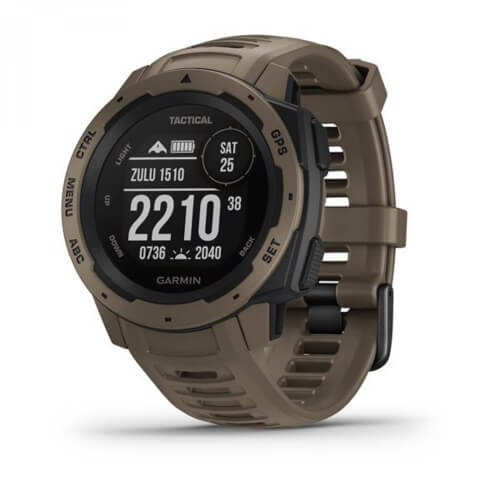 Garmin Instinct Tactical Hellbraun