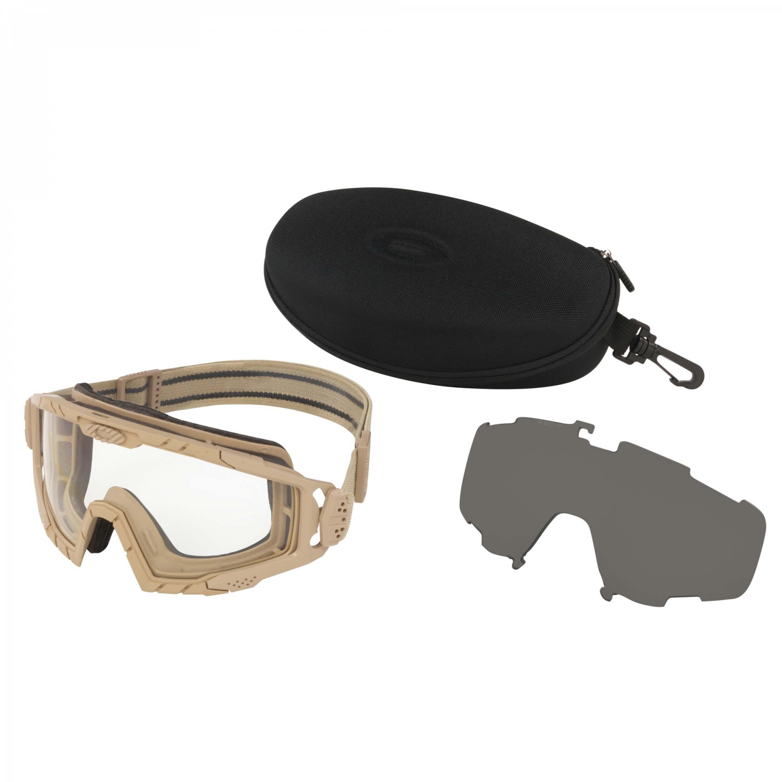 Oakley SI Ballistic Goggle 2.0 Drk Bone Array Clr/Gry