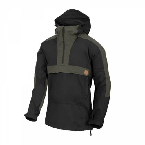 Helikon-Tex WOODSMAN Anorak Jacket black/ taiga green