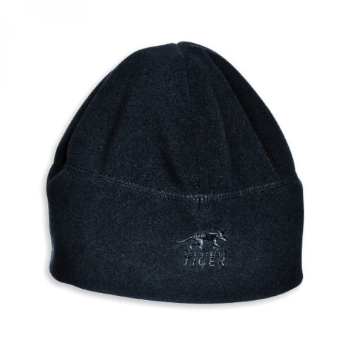 Tasmanian Tiger Fleece Cap schwarz