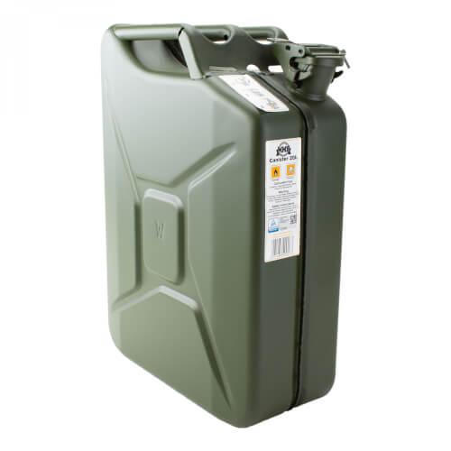 MMB Benzinkanister 20 L Stahlblech oliv
