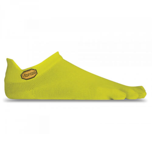 VIBRAM No Show Zehensocke Yellow