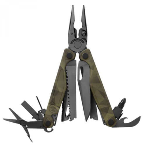 Leatherman Charge Plus forest camo, Nylon Sheath