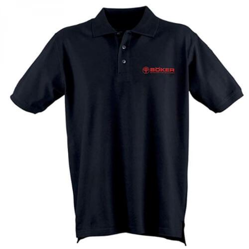 Böker Polo-Shirt schwarz