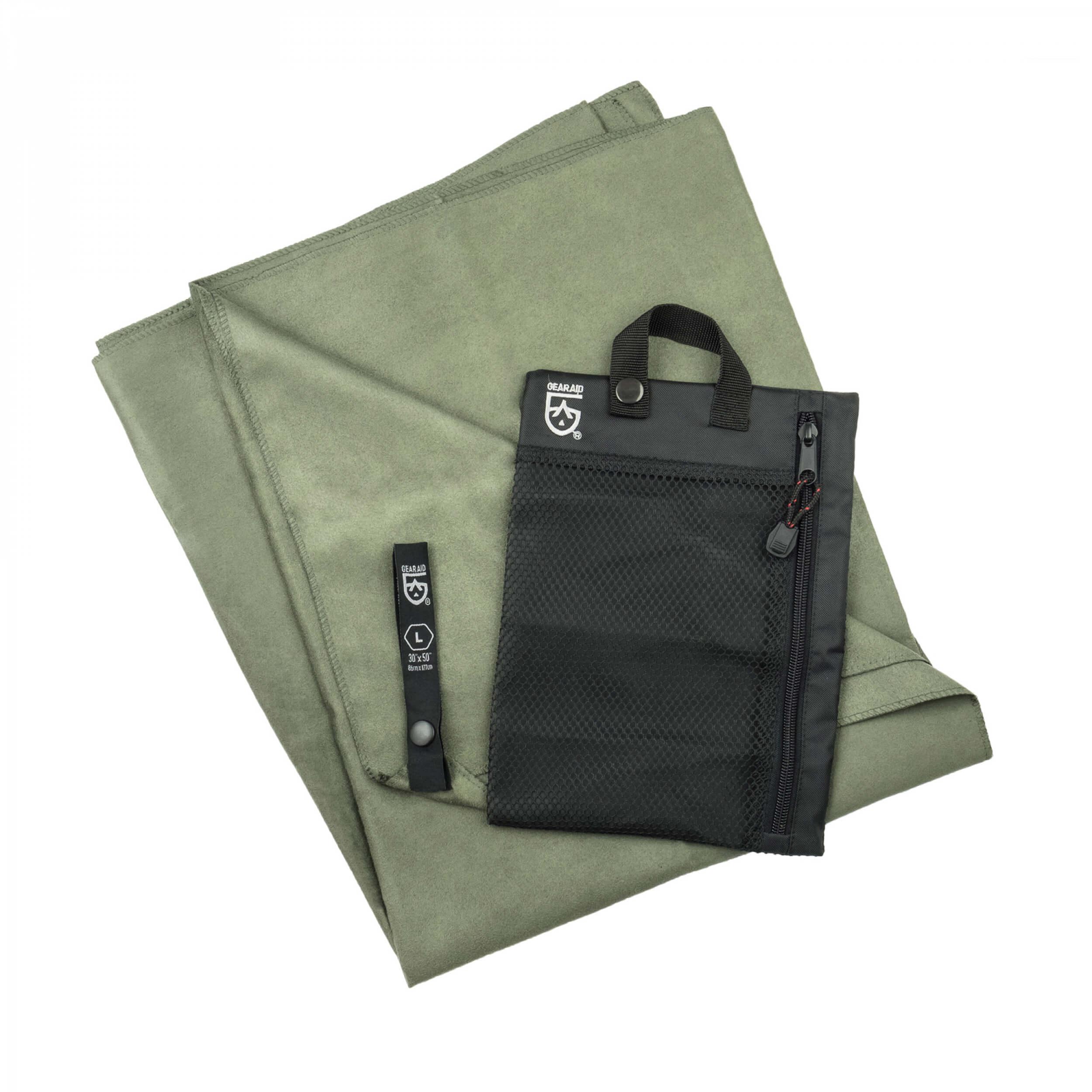 GearAid 'Microfiber Towel' Handtuch moosgrün