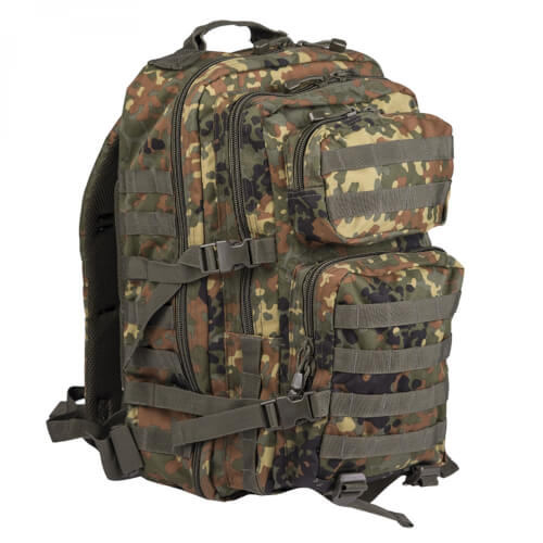 Mil-Tec US Assault Pack LG flecktarn