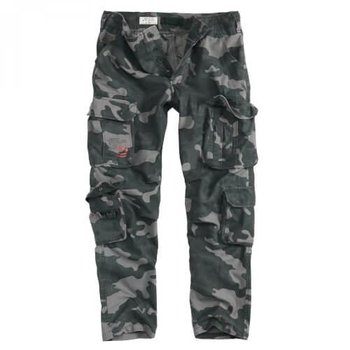 SURPLUS Airborn Slimmy Hose blackcamo
