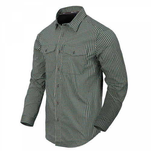 Helikon-Tex Covert Concealed Carry Shirt - Savage Green Checkered