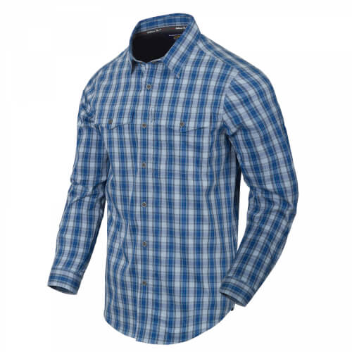 Helikon-Tex Covert Concealed Carry Shirt - Ozark Blue Plaid