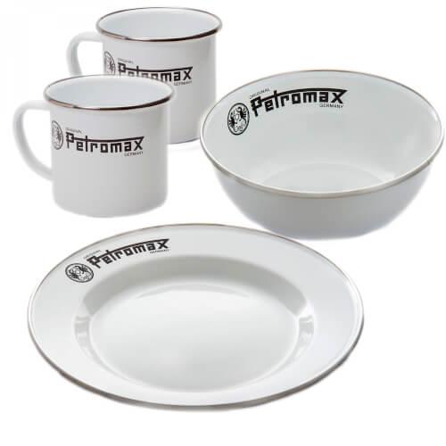 Petromax Emaille Set weiß