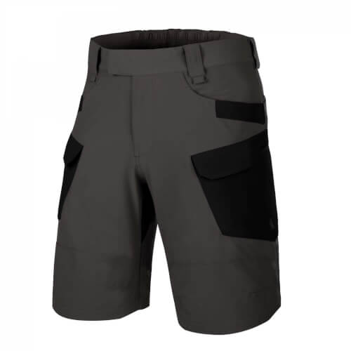 "Helikon-Tex OTS (Outdoor Tactical Shorts) 11"" -VersaStretch Lite Ash Grey / Black"