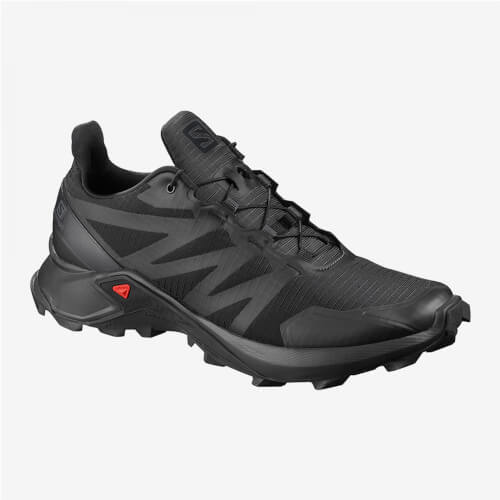 Salomon Supercross black 8.5 UK