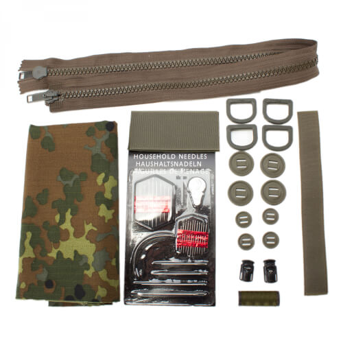 Sabre Smock Repair Kit BW Flecktarn