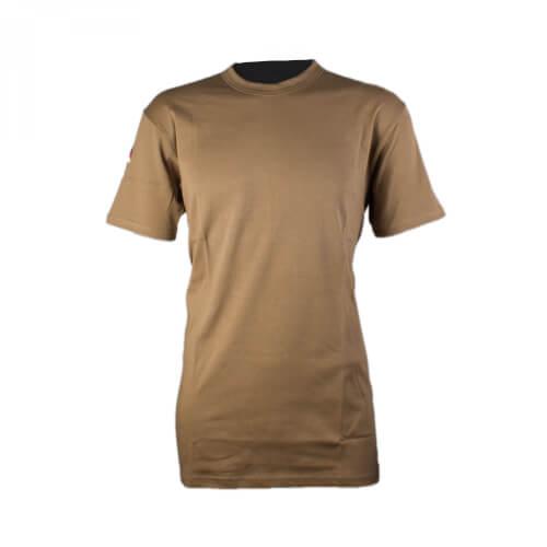 Mil-Tec BW Tropen T-Shirt m. Nationalabzeichen Orig. TL beige