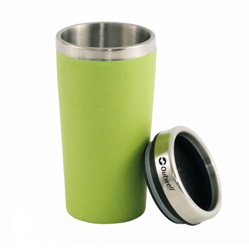 Outwell Thermobecher 'Bambus' grün 0,4l B-WARE