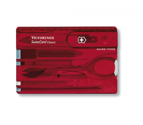 Victorinox SwissCard Classic rot