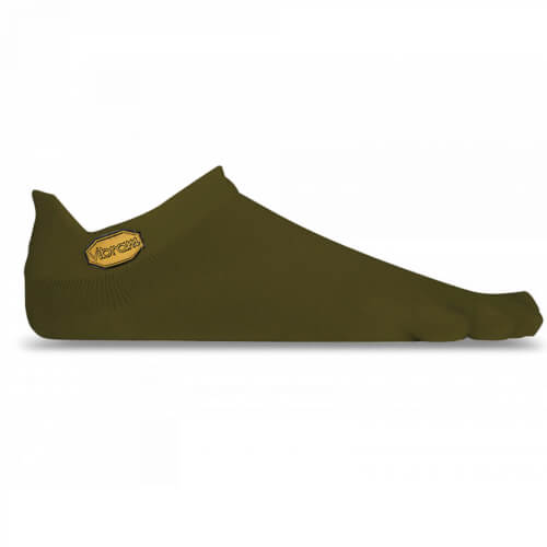 VIBRAM No Show Zehensocke 2er Set military/green