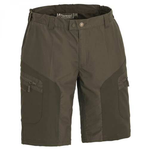 Pinewood Wildmark Stretch Shorts dunkelgrün
