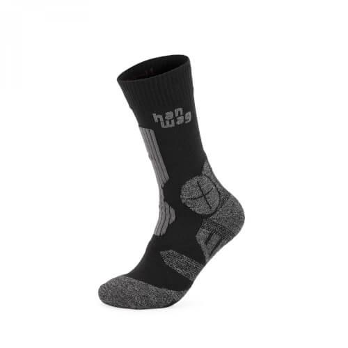 Hanwag Trek Socken asphalt/black