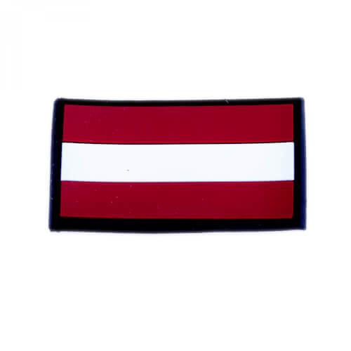 JTG 3D Rubber Patch Österreich Flagge