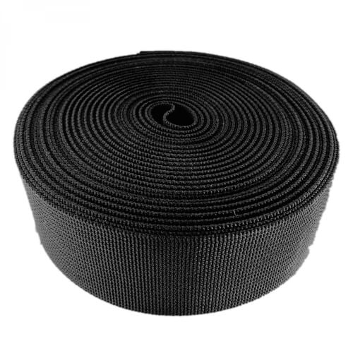 Gurtband 38mm nylon schwarz