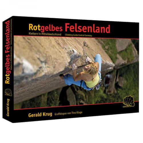Rotgelbes Felsenland – Kletterführer Mitteldeutschland
