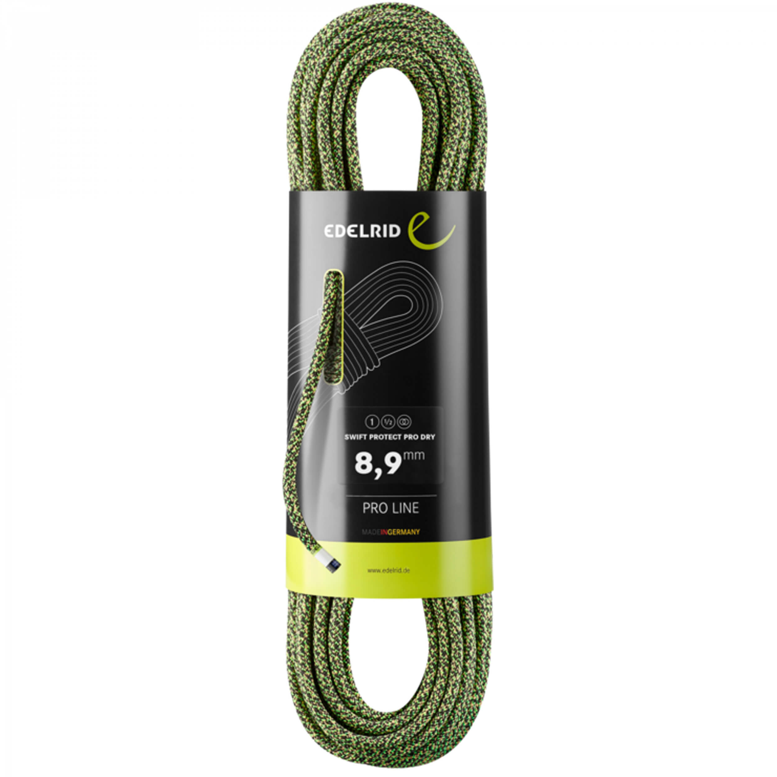 Edelrid Swift Protect Pro Dry 8,9mm night-green